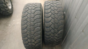 2 Good Year Wrangler 265/70R-17