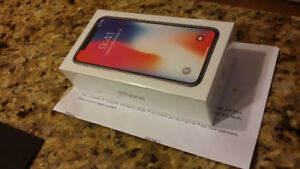 iPhone X 256 GB with Apple Care +