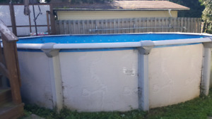 21' Above Ground Pool - Delivered!