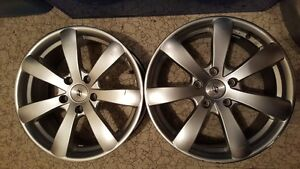 """2 Rims RIMS Bolt Pattern: 5x114.3mm or 4.5"""" 17x7""""  $100 for the"""