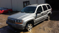 WE ARE PARTING OUT A 2000 JEEP GRAND CHEROKEE