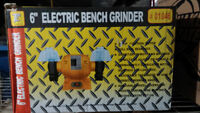 """New In Box 6"""" Bench Grinder"""