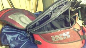 IXS motorcycle tank bag/travel bag with expandable top Stratford Kitchener Area image 5