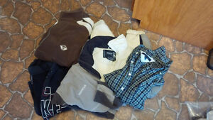 Men's size small clothing