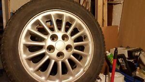 5X114 Multi spoke Grand-Am Alloy wheels 225/50/R16