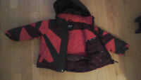 Boys Louis Garneau snowsuit size 4