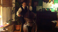 Solo Bass - Bass and Vocal -  weddings, receptions - See Video