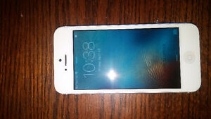 White iPhone 5 16GB Telus/Koodo *Credit Cards Accepted*