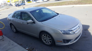 Reduced Fusion SEL, 4 cylinders, sunroof, bluetooth, no rust
