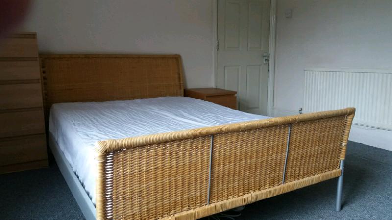 pretty nice 10f45 0ac4a Ikea wicker/rattan bed | in Crystal Palace, London | Gumtree