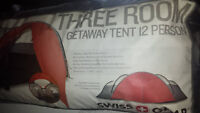 Swiss Gear 12-man tent -new & unopened.