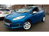 2016 Ford Fiesta 1.25 82 Zetec Blue (Nav) 5dr Manual Petrol Hatchback