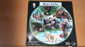 500 PIECE DELUXE JIGSAW - BEAR CUBS