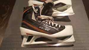 Bauer Elite 10D Goalie Skates with XBLADES
