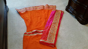 Set of two lachas lahnga from Jaipur.