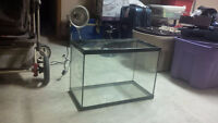 two fish tanks, heater and one light *Best offer*