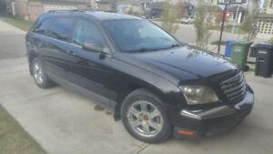 '04 Chrysler Pacifica, Seats 6, AWD, DVD, Navigation