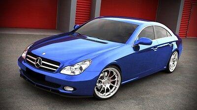 Spoilerlippe Frontspoiler Spoiler Diffusor für Mercedes CLS W219 500 63 65 AMG