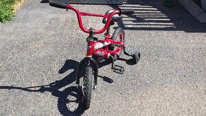 Boys Bike with Training Wheels