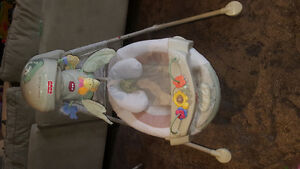 Fisher Price Natures Touch Cradle Swing