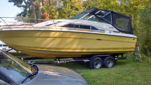 1980 27 ft Searay no trailer can deliver too your marina