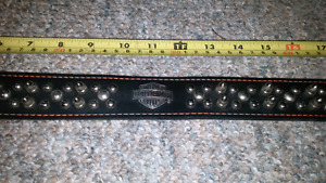 Authentic Harley Davidson dog collar