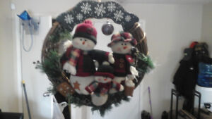 BEAUTIFUL CHRISTMAS WREATH ,REDUCED TO $15.00.