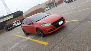 2013 DODGE DART REDLINE RED