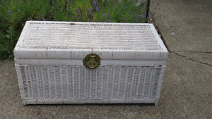 "Rattan Chest from 1970""s Comox / Courtenay / Cumberland Comox Valley Area image 1"