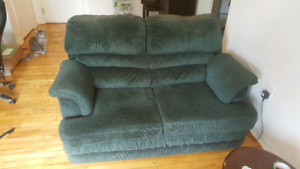 Matching love seat and chair - Fairview