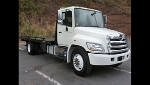 2008 Hino 338 Towing 24 pied flatbed