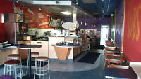 Furnished burger or pizza restaurant available immediately