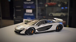 AUTOart 1/18 McLaren P1 Model (Matte Chrome)