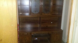 large hutch with lights $75.00 obo