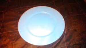 44 White and off white plates different sizes London Ontario image 3