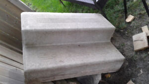 Cement entry steps