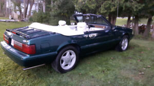 1990 Mustang 25 anniversary 7-Up edition