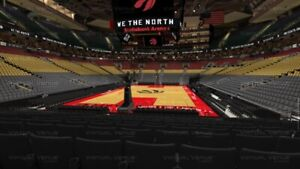 RAPTORS Playoff Game 1 Section 102 Row 9 (2 Tickets) $350 each