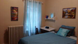 Furnished room $650 all inclusive, central Halifax