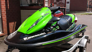 2014 Kawasaki STX 15F With Trailer & 5 Year Warrenty