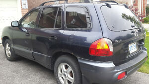 2003 Hyundai Santa Fe Alloy wheels SUV, Crossover