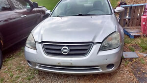 2003 Nissan Altima Parting Out