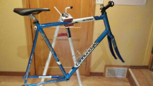 Cannondale Caad 7 63cm aluminum frame with carbon fork