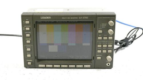 Leader LV5750 Multi SDI Waveform Monitor Waveform Vectorscope