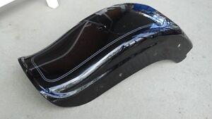 aile arriere softail 2006 et plus duck tail noir original pour 2