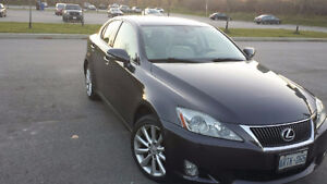2010 Lexus IS250 AWD - Lease Takeover $309/mo