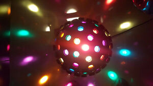Sunray III Revolving Disco Light