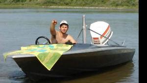 1981 SIDEWINDER 17 foot speed boat