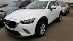 2017 MAZDA CX3 GS LOW KM