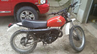 Honda MR175 Elsinore